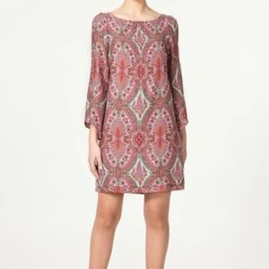 ZARA Woman Silk Paisley Dress